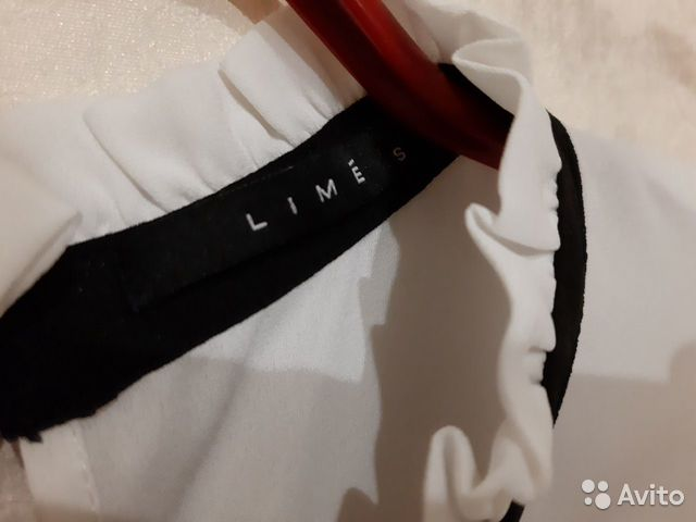 Белая блузка Lime 89275136547 купить 3
