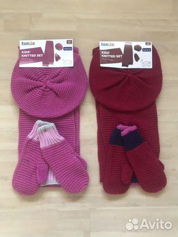 Комплект (берет, шарф, рукавички)  89107170367 купить 2