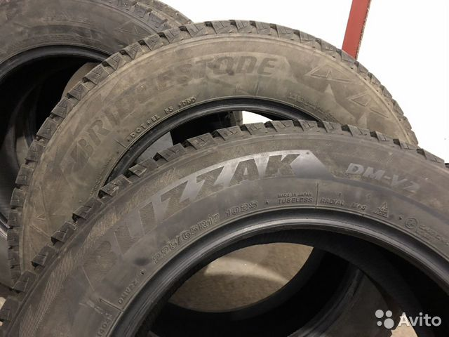 Bridgestone Blizzak DM V2 225/65 R17