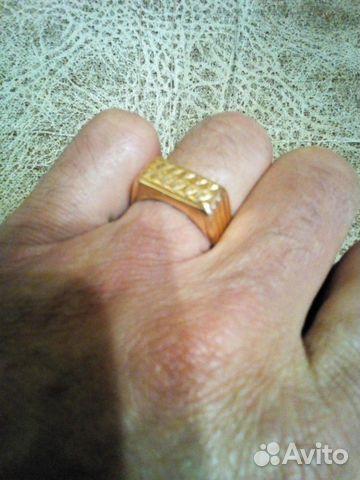 Печатка мужская золотая