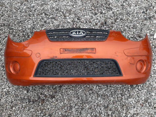 Бампер передний Киа Пиканто 1 рестайлинг оригинал 89113841167 купить 1