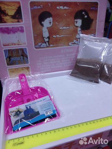 84942303606 Стол для рисования песком, световой стол голубой