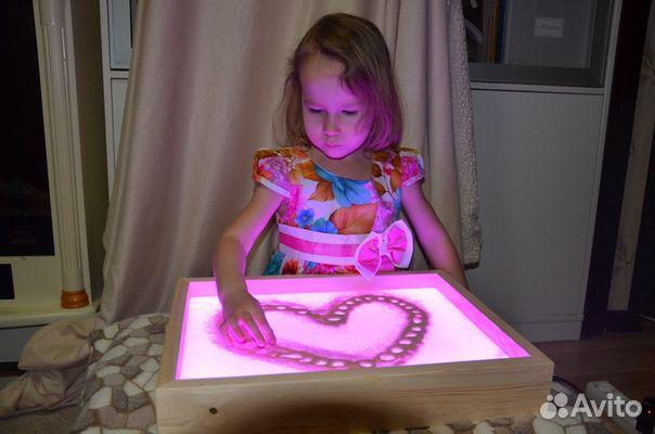84942303606 Детский стол Рисуй песком
