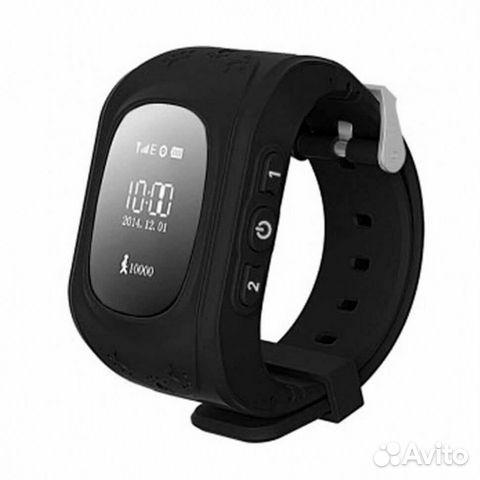 84942303606 Часы детские Smart Baby Watch Tiroki Q50 Черные