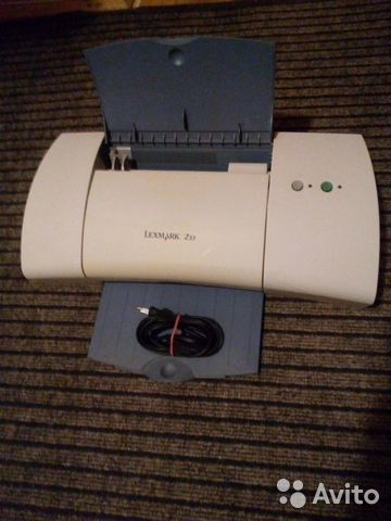 Принтер lexmark z33