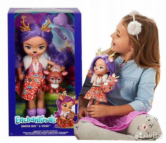 Enchantimals большая Кукла 31см в ассорт  89062132153 купить 2