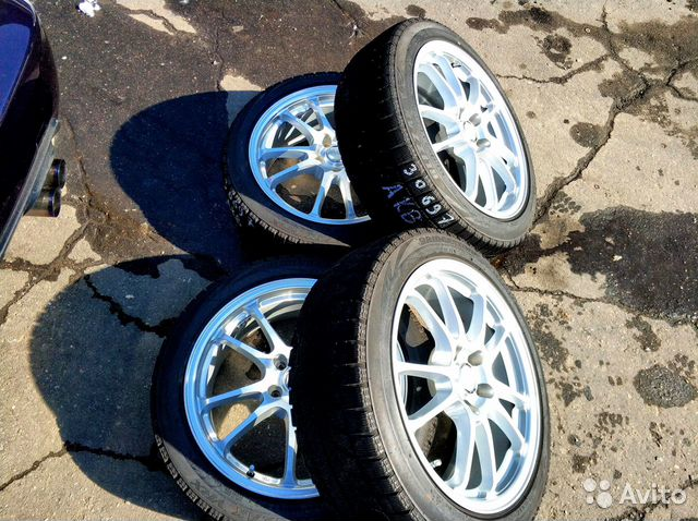 30697 Комплект дисков bridgestone Ecoforme R18, 7