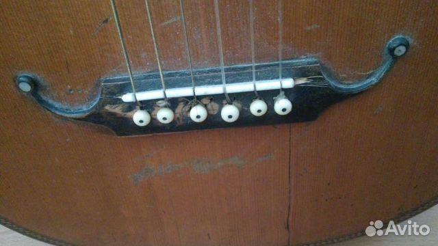 Гитара старинная мастеровая(раритет 1880 года) 89538598168 купить 9