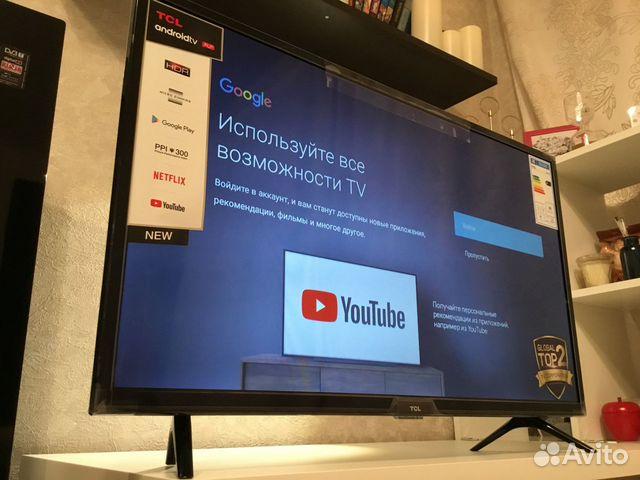 Смарт телевизор с голосовым управлением 32(новый) купить 6