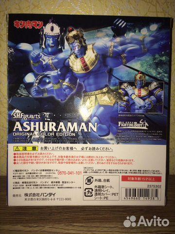 Фигурка Kinnikuman S.H.Figuarts Ashuraman (Origina купить 2