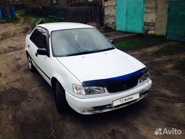 Toyota Corolla, 1998 89030676499 купить 5