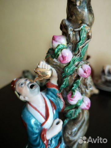 Фарфоровая статуэтка, старый Китай 89525864922 купить 2