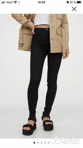 Джинсы H&M (super skinny high )  89211214270 купить 2