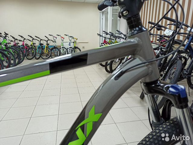 Велосипед Trinx m137 - колеса 27.5 рама 21  купить 4