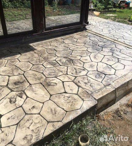 Печатный бетон кострома бетон покровское