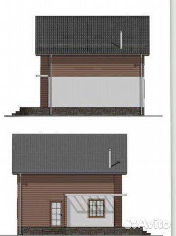 Коттедж 128 м² на участке 10 сот.  89201150483 купить 1