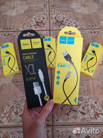 Шнур зарядный на айфон