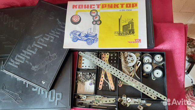 Детский металлический конструктор,новый,оригинал  89273776509 купить 8