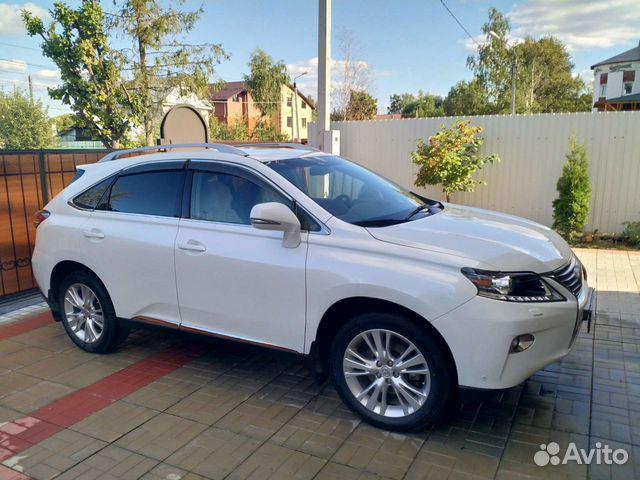 Lexus RX, 2013  89092683607 купить 7
