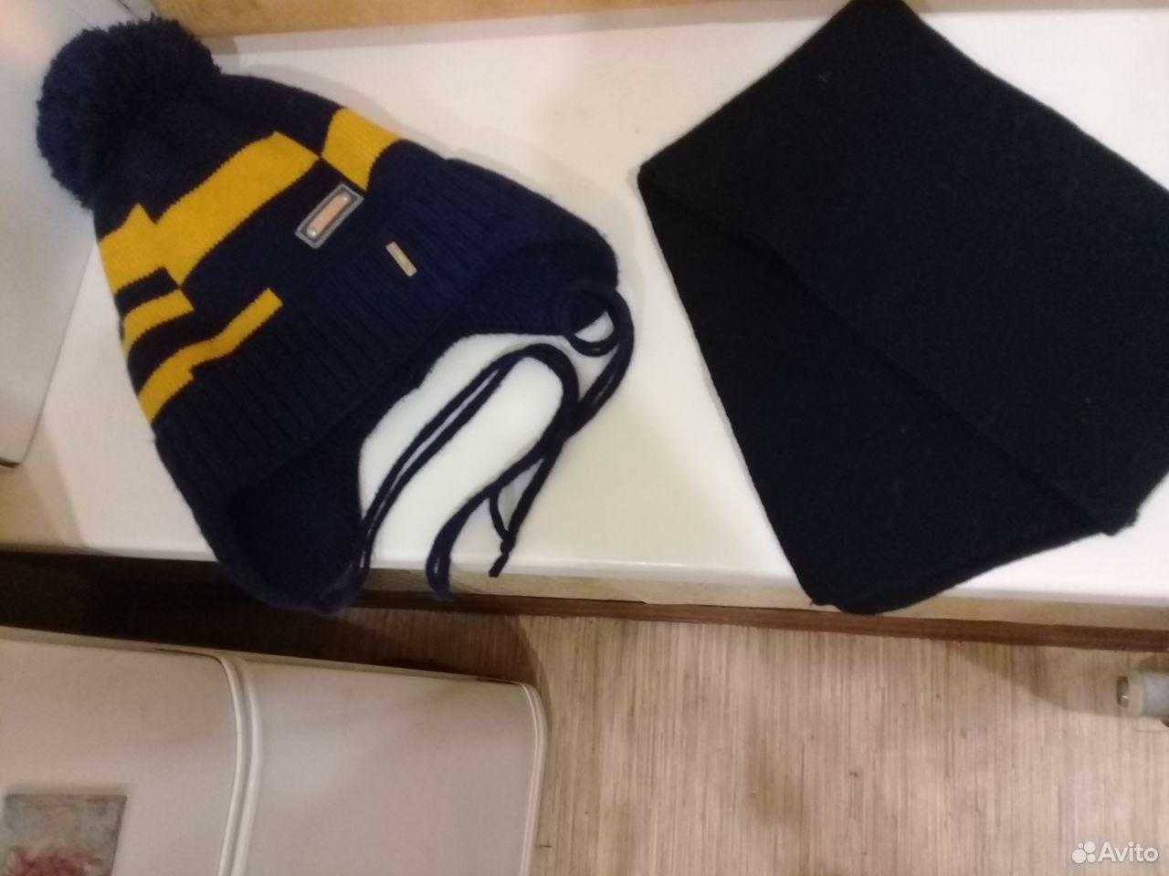Комплект- шапка с шарфиком (Польша)  89232723354 купить 1