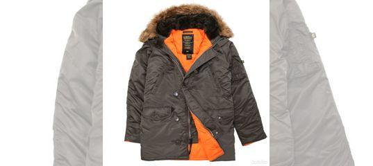 2baf248f Куртка аляска Alpha Industries slim Fit N-3B,Parka купить в Москве на Avito  — Объявления на сайте Авито
