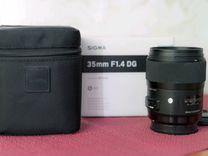 Sigma AF 35mm f/1.4 DG HSM Art Minolta A