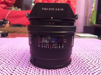 Sony fish-eye 2.8/16