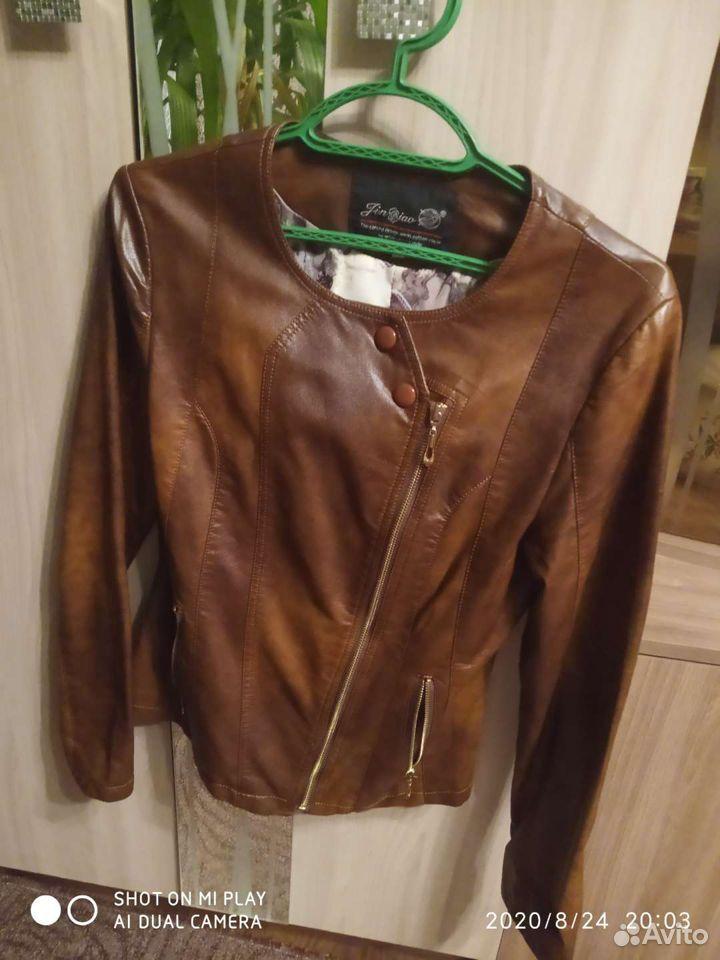Кожаная куртка  89507585962 купить 2