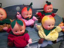 Игрушки фрукты 1995 года