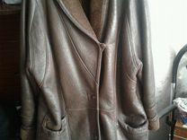 Куртка коженная женская на натуральном меху р50-52