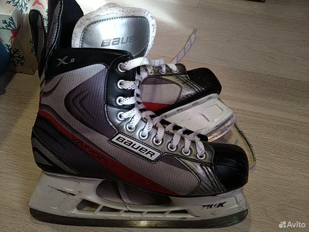 Хоккейные коньки Bauer 10R 89085535342 купить 2