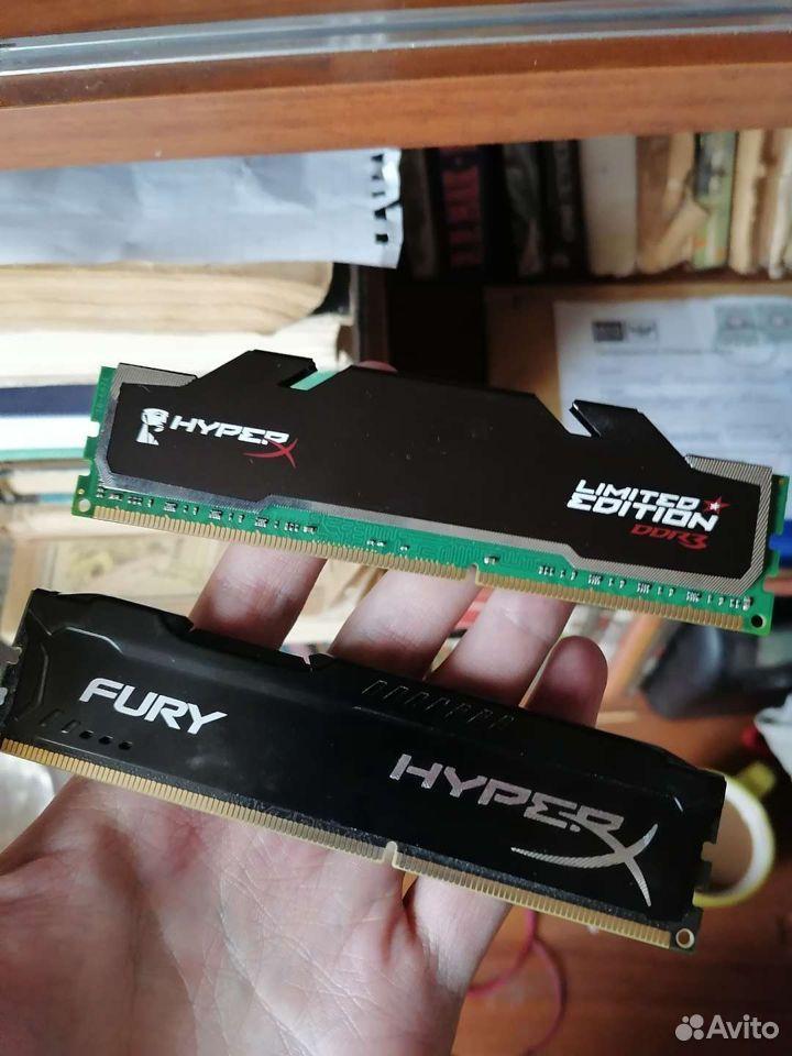 Оперативная память DDR 3 8 Gb (2x4)