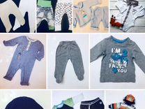 Пакет вещей на малыша 56-62 см