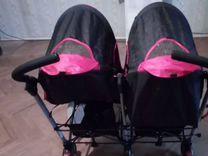 Коляска-трость для двойни Babies rus