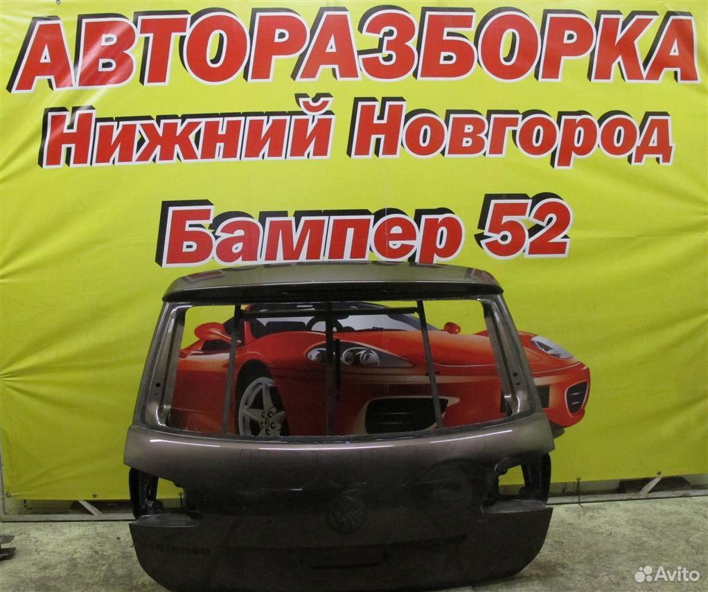 VW Touareg 2 NF 2010) крышка багажника (коричнева  89524408730 купить 1