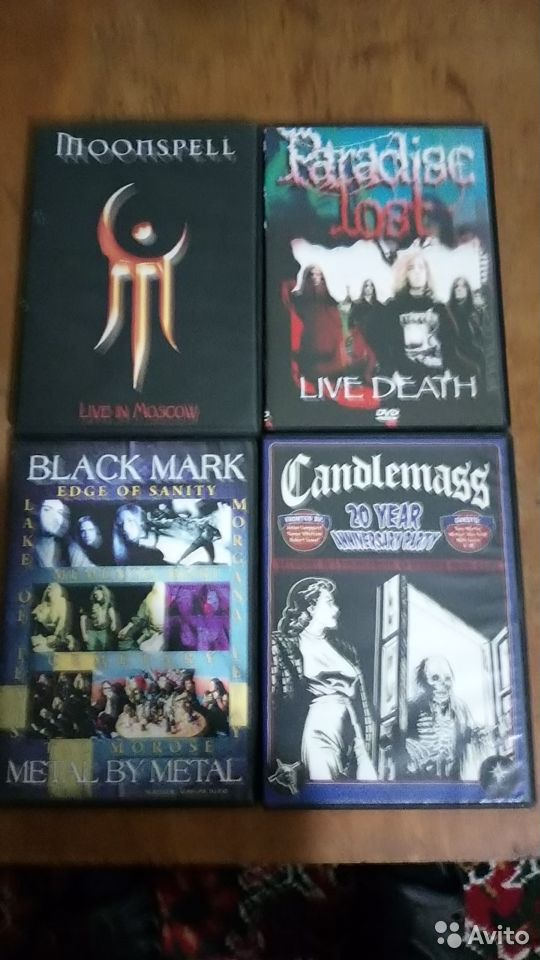 DVD, музыка (метал) 89992244626 купить 4