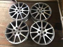 Оригинальные многоспицевые диски Toyota R17 5x114