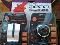 Веб-камера и мышка denn