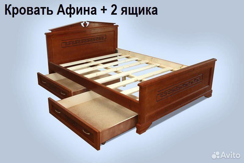 Кровать, матрас, тумба, комод из массива дерева  89023272899 купить 4