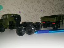 Модель Урал - 44202 с полуприцепом
