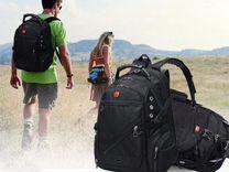 SwissGear рюкзаки для туризма и города + наушники — Спорт и отдых в Челябинске
