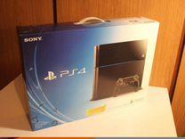 Sony PS4 500Гб Ростест. В упаковке + 10 игр