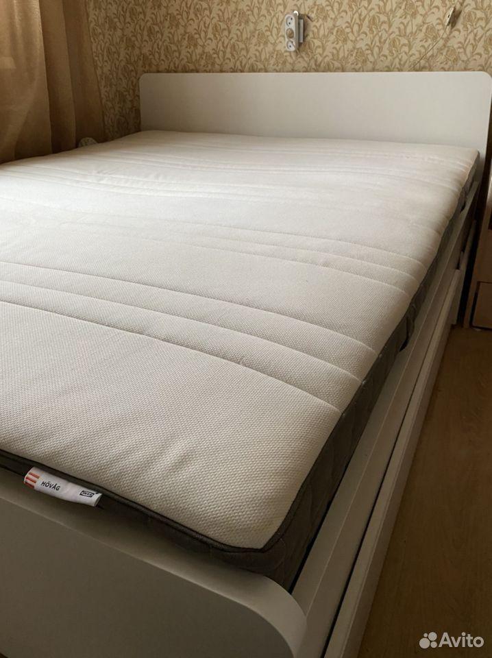 Кровать IKEA 160*200  89106729719 купить 1