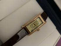 Золотые часы Ника новые