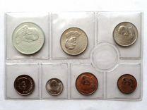 Юар набор 7 монет 1968 г. Английская надпись