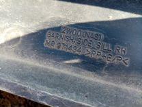 Накладка на порог правая Mitsubishi Outlander CU