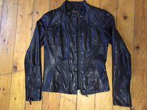 Кожаная куртка Stradivarius