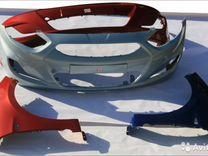 Комплект новых Бампер Hyundai Solaris в цвет
