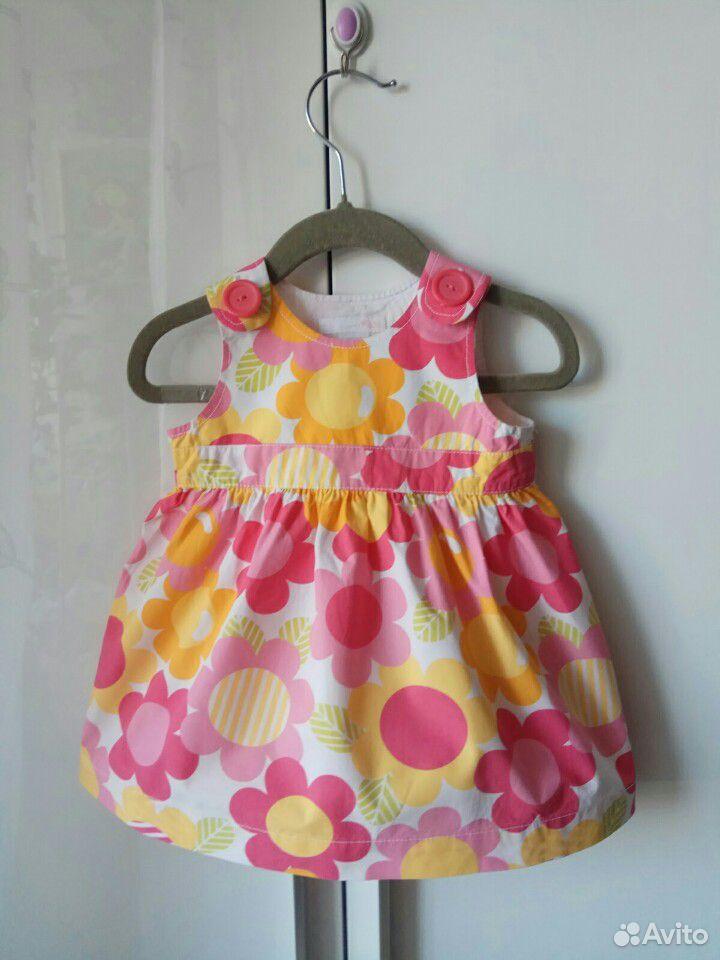 Платье H&M для девочки на полгодика  89139481583 купить 1