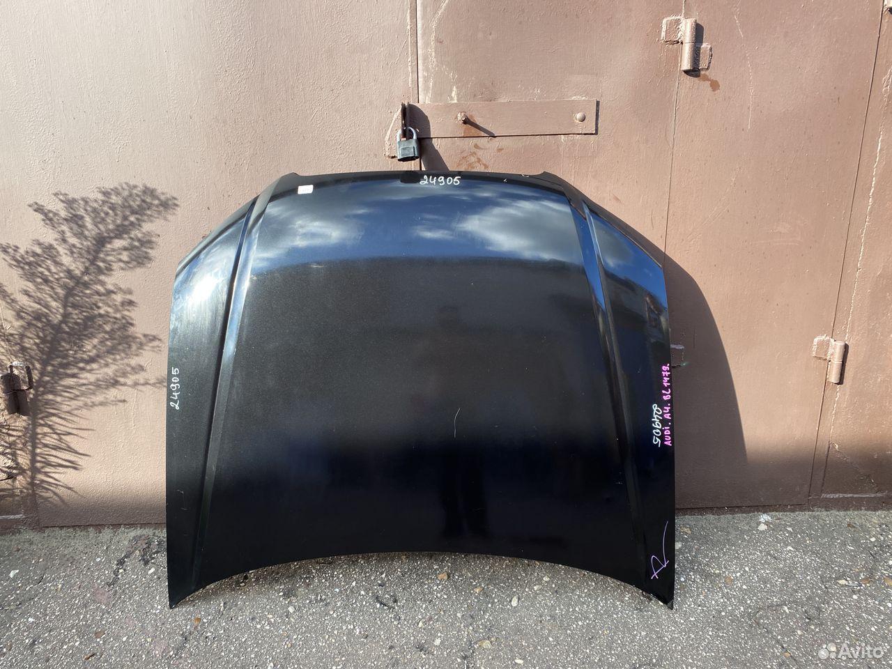 Капот черный Audi A4 B7  89534684247 купить 1